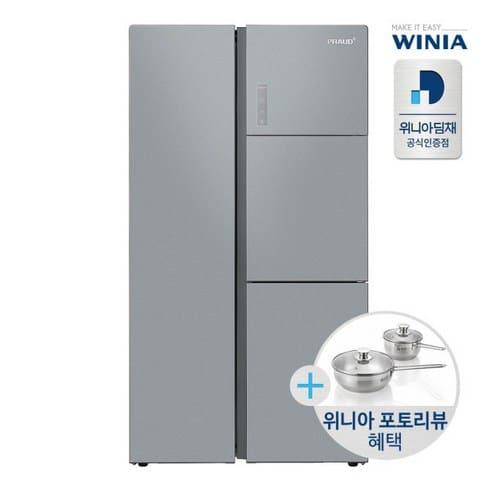 Product Image of the 위니아딤채 프리미엄 양문형냉장고