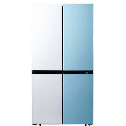 Product Image of the 캐리어 클라윈드 파스텔 콤비 4도어 냉장고