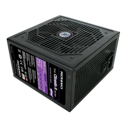 Product Image of the 마이크로닉스 Classic II 600W 12V 싱글레일 85
