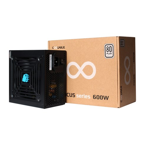 Product Image of the COOLMAX FOCUS 600W 80Plus 230V EU
