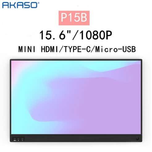 Product Image of the 아카소 15.6인치 Full HD IPS 휴대용 모니터