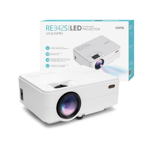 Product Image of the Coms LED 미니 빔프로젝터 RE342S