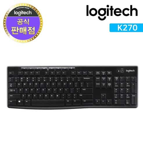 Product Image of the 로지텍코리아 정품 K270 무선키보드