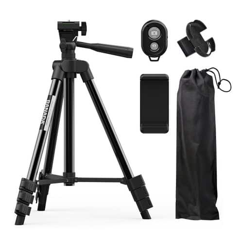 Product Image of the 바나다 스마트폰 4단 삼각대 5종 세트
