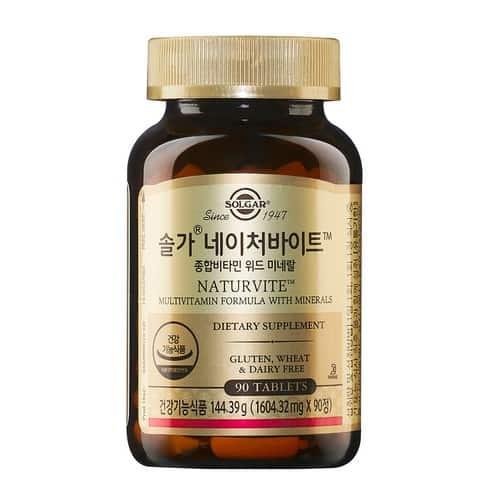 Product Image of the 솔가 네이처바이트 종합비타민 위드 미네랄